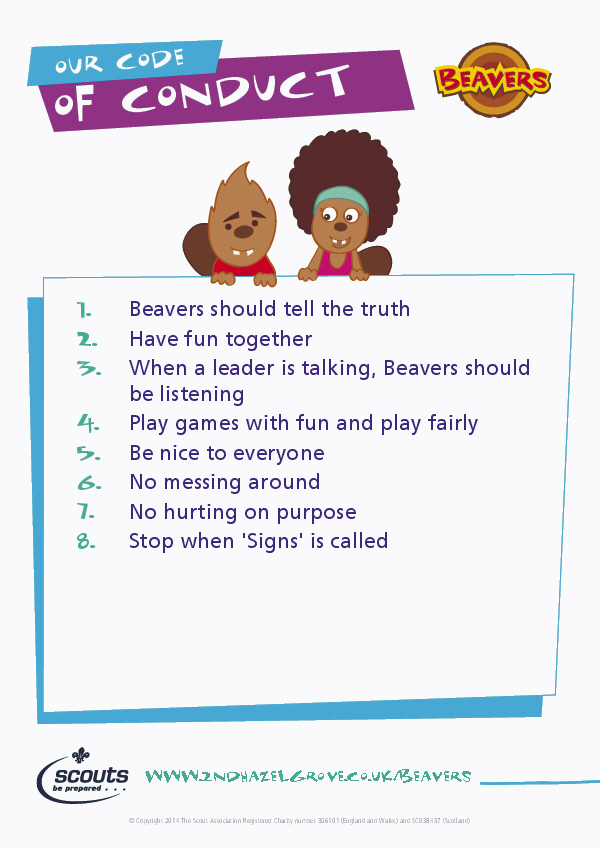 Beaver Code of Conduct