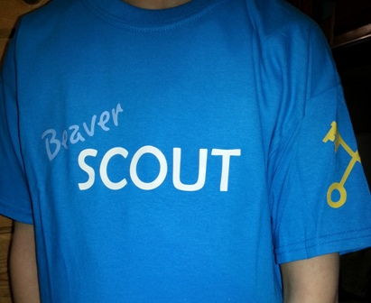 Beaver Scout T-Shirt - Front